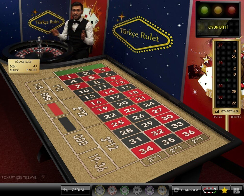 Evolution Casino Turkish Live Casino